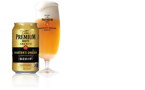 The Premium Malt's Master's Dream  Multiple, intertwining layers of rich flavor  Product formats: 305ml