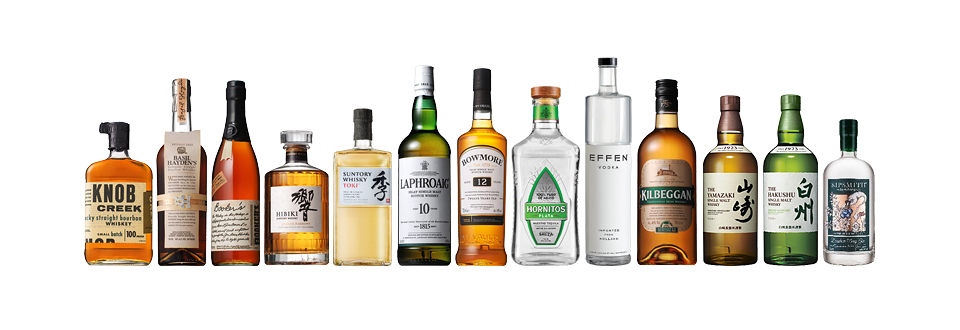 Suntory About Us Our Business Spirits