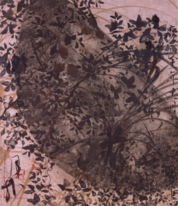 mono no aware and ese beauty works from the exhibition poem from the shin kokinshu new collection of poems ancient and modern on underpainting of autumn grasses and the moon painting by tawaraya s 333 tatsu