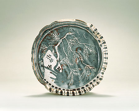 「mino005web.jpg鼠志野柳文鉢 桃山時代 16~17世紀」の画像検索結果